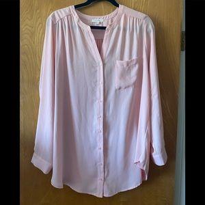 Pleione button down blouse L